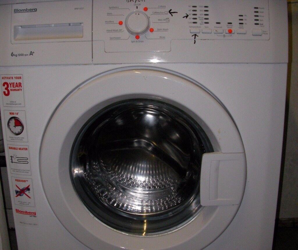 Excellent Washing machine