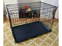 Dog folding pet crate/den - by Great&Small - size M - boxed, perfect condition