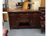 ** ANTIQUE MAHOGANY SIDEBOARD IN VERY GOOD CONDITION **