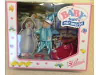 NEW BABY born miniworld Snow Sledge Outfit