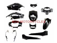 Honda Lead NHX110 Lead 110 Body Panel Fairing Set 2008 2009 2010 2011 2012 BLACK