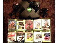 Xbox Console with Bundle of 10 Games