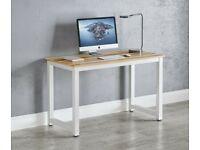 Computer Home Office Desk Corner Wooden Desktop Table PC Study Workstation