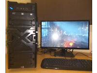 Powerful gaming PC i7 ASUS GeForce GTX 970 Strix 16GB RAM SSD + HDD W10 perfect working condition!