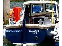 Cornish Buccaneer fishing/ potting boat 17/18 ft