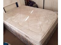 Double bed base and double mattress for free. Pick up only.