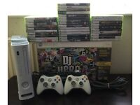 Xbox 360 with 35 games