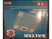Salter Compact Glass Electronic Scale