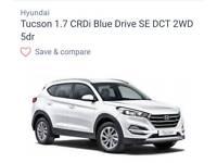 Hyundai Tucson SE (65 plate) 25000 Miles White