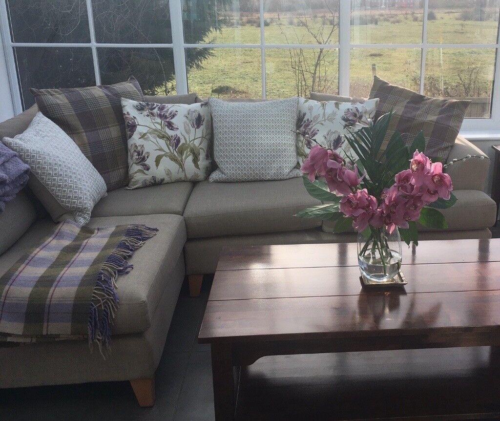 DFS House Beautiful Corner Sofa