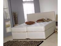 6FT SUPER KING SIZE ZIP & LINK DIVAN BED