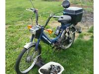 Honda PA50 & Yamaha QT50 49cc vintage mopeds for restoration both with log books