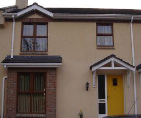 Modern 3 bedroom house for rent in Silverhill area of Enniskillen