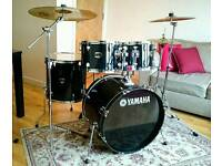 Yamaha Gigmaker Drum Kit, Sabian Solar Cymbal set, Stool, Dampers in great Condition