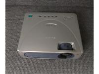 Sony VPL-CS10 LCD SVGA projector with remote, cables and case. Superb condition.