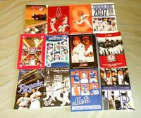 MLB Baseball Media Guides - Assorted Teams