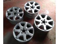 16 inch Mercedes Alloy Wheels