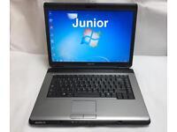 Toshiba Quick Laptop, 2GB Ram, 80GB, Windows 7, Microsoft office, Very Good Cond, Ready to use