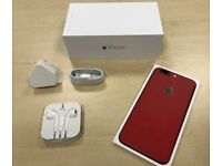 ***GRADE A *** Boxed Red iPhone 6 Plus 16GB Factory Unlocked Mobile Phone + Warranty