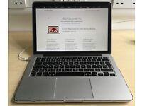 Apple Macbook Pro Retina 13 inch Apple Care