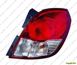 Tail Light Passenger Side High Quality Saturn Vue 2008-2009