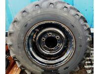 Tyre - Pneumant 12.5 - 20 on 6 stud rim