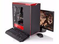 Fast Core i7 Quad Core 4K Ready Gaming PC Computer Desktop