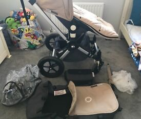 Bugaboo cameleon buggy/pram and accessories