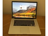 MacBook Pro (Retina, 15-inch, Mid 2015) - 2.5 GHz i7 - 16 GB RAM - 512GB SSD