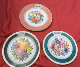Chelsea flower show plates