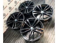 "GENUINE 19"" BMW G30 M-SPORT ALLOY WHEELS - 5 X 112"