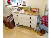 Beautiful vintage chest of drawers, dressing table, bedroom furniture, dresser, TV unit