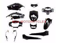 Honda Lead NHX110 Lead 110 Body Panel Fairing Set 2008 2009 2010 2011 2012 BLACK