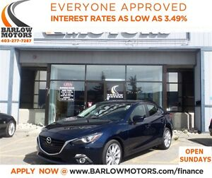 2014 Mazda MAZDA3 GT-SKY*EVERYONE APPROVED* APPLY NOW DRIVE NOW.