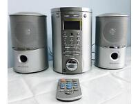 Compact stereo,cd player, radio etc.. with remote&speakers,works perfect, bargain at £15