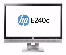 HP Elitedisplay E240C Monitor HDMI Brand new in sealed original box never opened