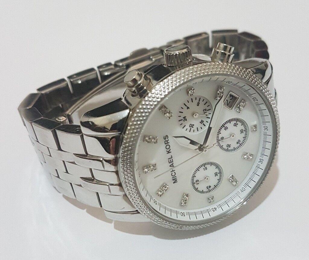 12b4fce000b3 Michael Kors Ladies  Ritz Chronograph Watch MK-5020
