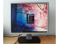 "19"" Dell SE197FP LCD Monitor 1280 x 1024"
