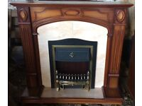 Firesurround and electric fire.
