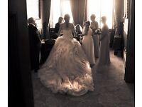 Ian Stuart Lilac Pracatan Wedding dress