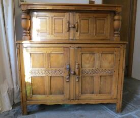 Old Ercol Court Cupboard