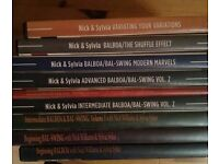 Sylvia Sykes Balboa swing instructional DVDs - full collection, 9 DVDs