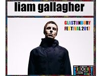 LIAM GALLAGHER GLASTONBURY 2017 CD OASIS