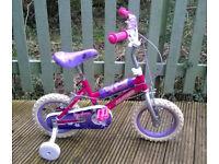 Lip Gloss 12'' Kids' Bike with Stabilisers