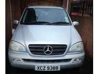 2004 Mercedes ML 270 Jeep Excellent condition