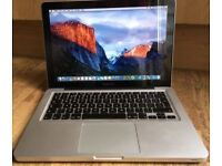 """Macbook Pro 13"""" i5 2.4GHz 8GB 500Gb hard drive, recently service, Good battery, Office laptop"""