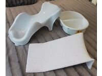 Baby Bath Seat Support (White) Bowl