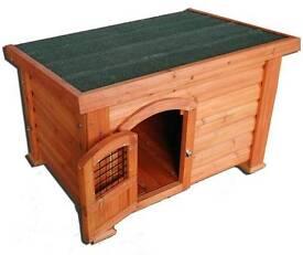 Used kennel and fleece blanket