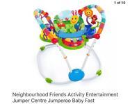 Baby jump activity center jimperdoo