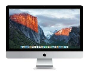 "Apple iMac  - Core i7 2.8 GHz - 16 GB RAM -  1024 STORAGE - 27"" screen"